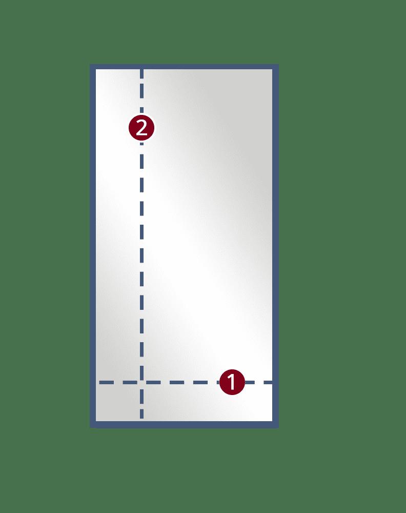 Single Door Semi-Framed