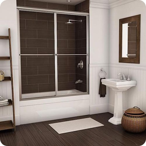 Framed 650 Deluxe Sliding Shower Enclosure | Shower Enclosures | Products | Residential | Anchor-Ventana Glass