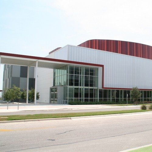 Building Exterior View | AISD Performing Arts Center | Commercial Projects | Anchor-Ventana