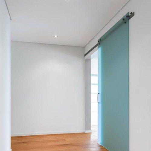 Sliding Glass Door for Room Entrance | Sliding Barn Doors | Residential Product Gallery | Anchor-Ventana Glass Company