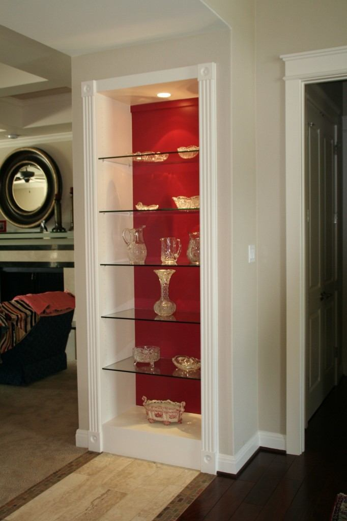Glass Shelves In Living Room | Cabinet Glass U0026 Shelves Gallery |  Residential Products | Anchor