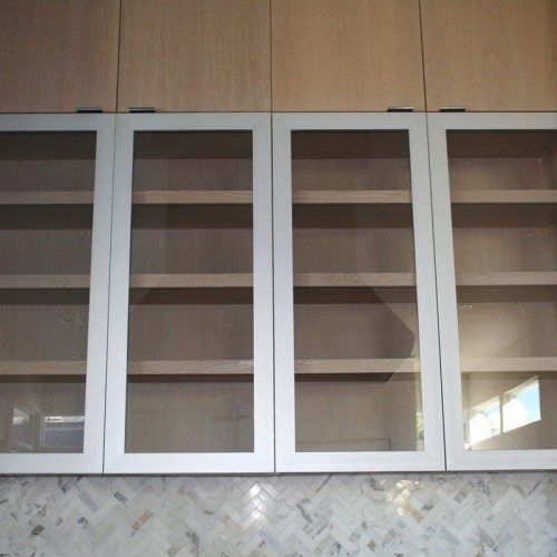 Glass Door Inserts for Kitchen Cabinets | Cabinet Glass & Shelves Gallery | Residential Products | Anchor-Ventana Glass