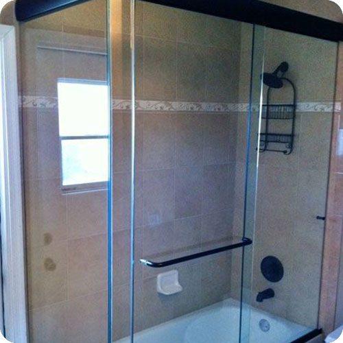 CK/DK Sliding Shower Enclosures   Shower Enclosures   Products   Residential   Anchor-Ventana Glass