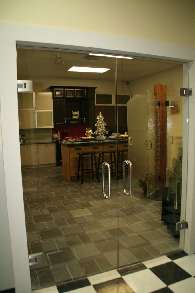 Heavy Glass Frameless Doors Commercial Gallery Anchor Ventana