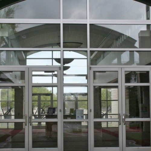 Curtain Wall and Commercial Doors | Entrances Gallery | Commercial Products | Anchor-Ventana Glass