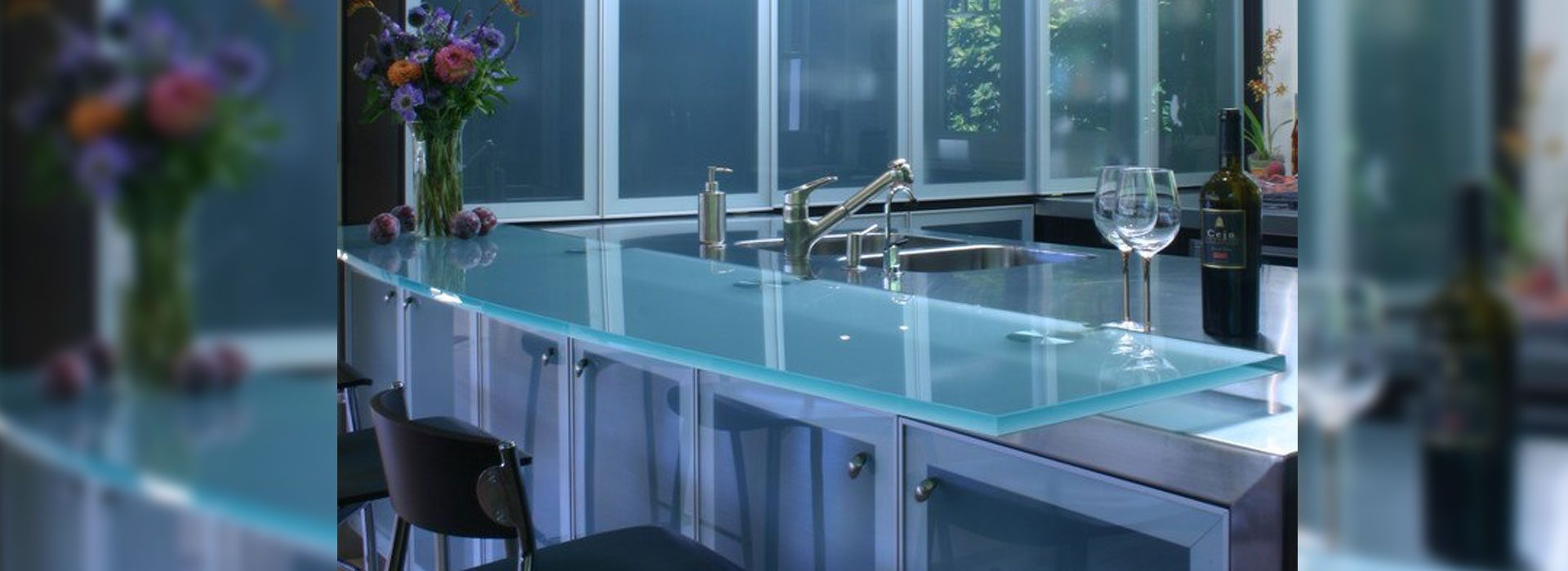 Glass Tables & Countertops | Residential Glass | Anchor-Ventana Glass