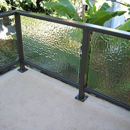 ARS Glass Handrail with Flemish Glass at Balcony | Glass Handrail Systems | Residential Gallery | Anchor-Ventana Glass