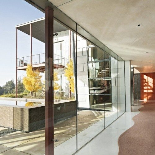 Butt Glazed Glass Wall System | Glass Wall Systems Gallery | Residential Products | Anchor-Ventana Glass