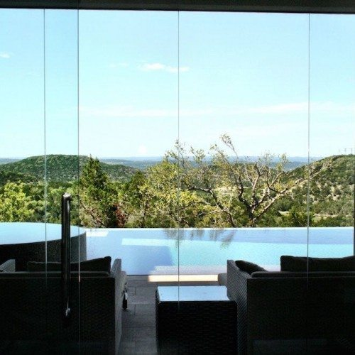 Butt Glaze Window Glass Wall System | Glass Wall Systems Gallery | Residential Products | Anchor-Ventana Glass