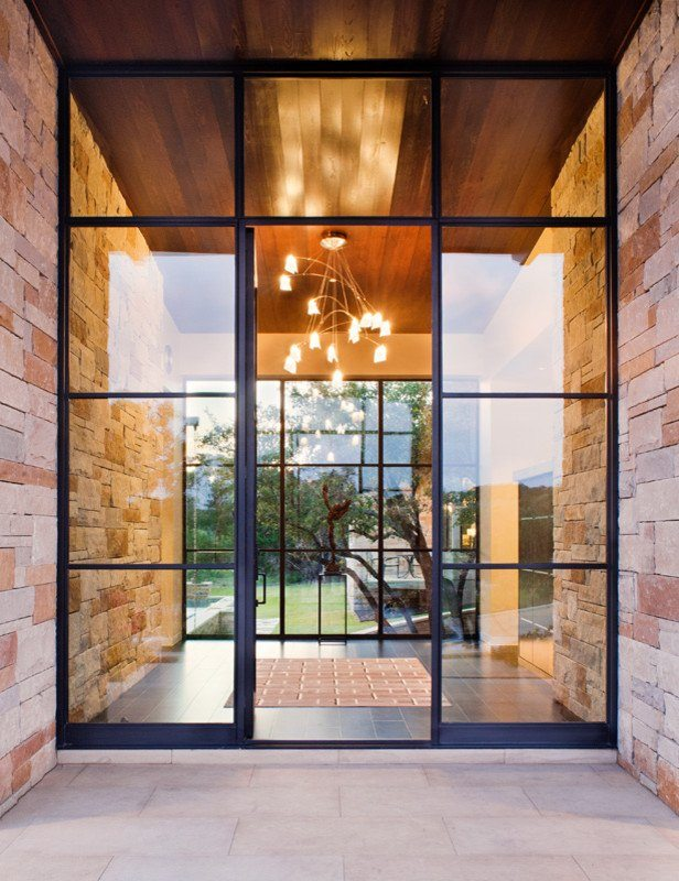 Glass wall systems residential gallery anchor ventana for Glass wall door systems