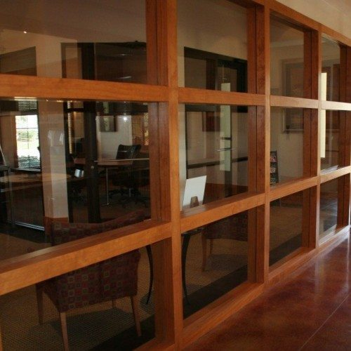 Glass Wall | Glass Wall Systems Gallery | Interior Glass Products | Anchor-Ventana Glass