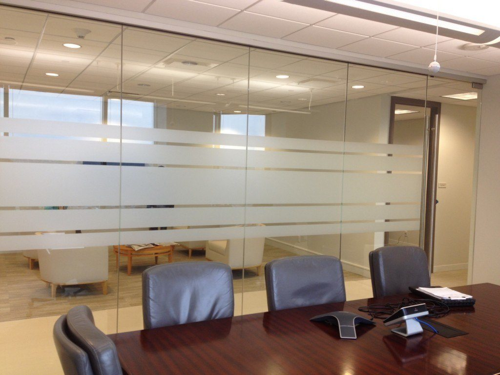 Glass Wall Systems Commercial Gallery AnchorVentana Glass - Frosted glass conference room table