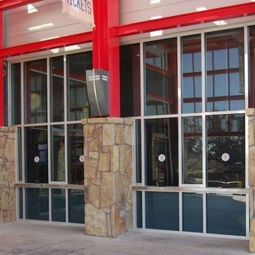 Speaker / Ticket Window | Counter Partitions & Pass-Thru Gallery | Interior Glass Products | Anchor-Ventana Glass