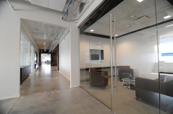 Commercial interior glass commercial gallery anchor ventana glass 12 glass door and glass wall planetlyrics Choice Image