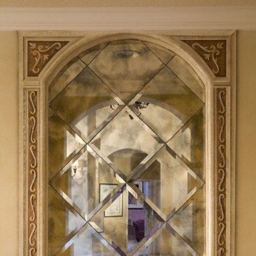 Framed Beveled Antique Mirror | Mirrors Gallery | Anchor-Ventana Glass