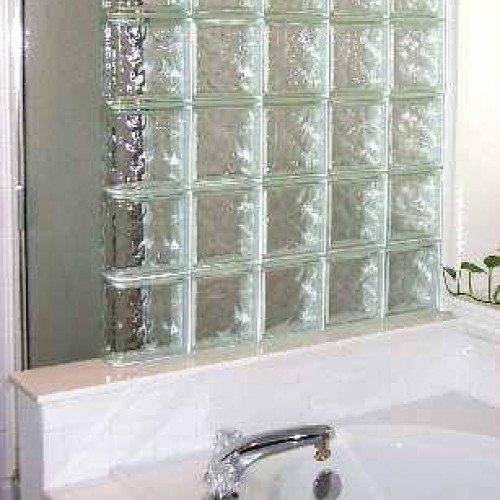 Interior Nubio Glass Block Shower Wall System | Other Residential Glass | Residential Glass Gallery | Anchor-Ventana Glass