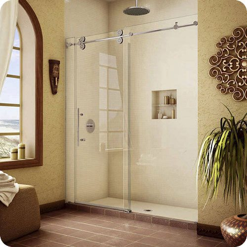 Pipeline Sliding Shower Door Enclosure | Shower Enclosures | Products | Residential | Anchor-Ventana Glass