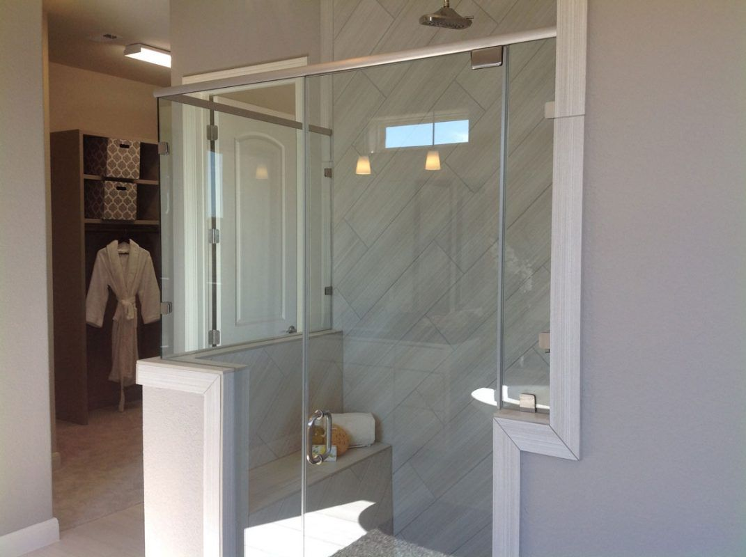 Semi Frameless Shower Enclosures Gallery Anchor Ventana Glass