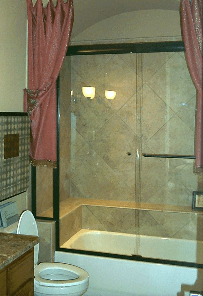 Semi Frameless Shower Enclosures Gallery Anchor Ventana Glass