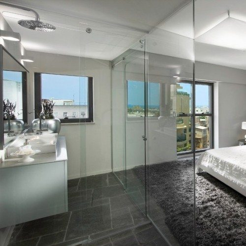 Frameless Glass Bathroom Enclosure | Shower Gallery | Anchor-Ventana Glass