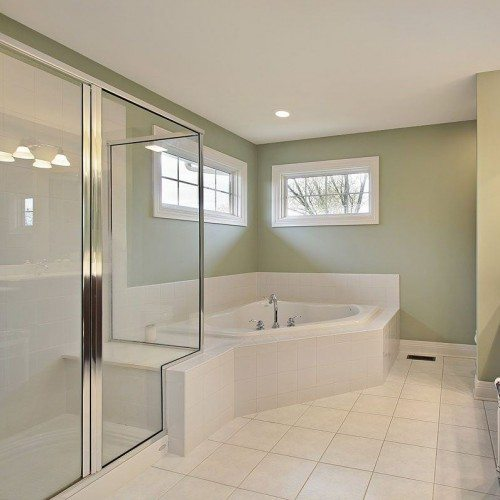 Framed Shower | Shower Gallery | Anchor-Ventana Glass