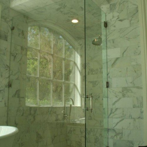 Frameless Shower | Shower Gallery | Anchor-Ventana Glass
