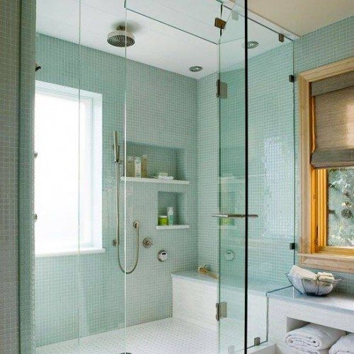 Let Anchor-Ventana make your bath a beautiful place with a frameless shower enclosure | Shower Gallery | Anchor-Ventana Glass