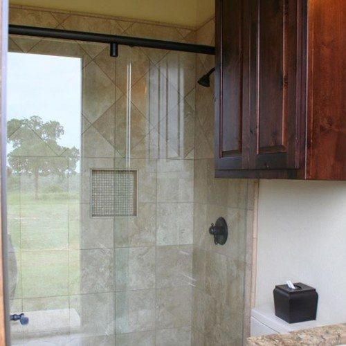 Bathroom Sliding Shower Enclosure | Shower Gallery | Anchor-Ventana Glass