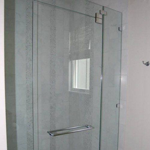 Frameless Shower - Bathroom - Modern | Shower Gallery | Anchor-Ventana Glass