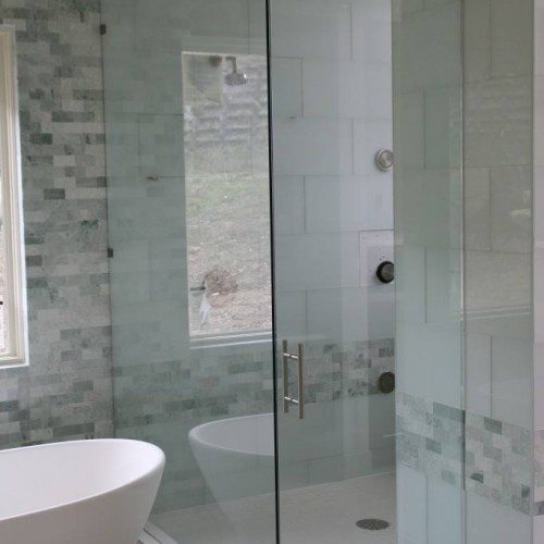 Frameless Shower - Bathroom - Modern - Eclectic | Shower Gallery | Anchor-Ventana Glass
