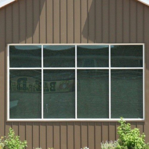 Exterior View of Windows of Commercial Building Storefront Entrance | Commercial Storefronts | Commercial Products | Anchor-Ventana Glass